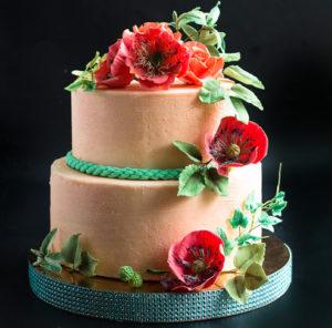 Украшение торта из пластичного шоколада