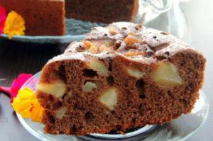 Как готовить пирог с грушами и шоколадом