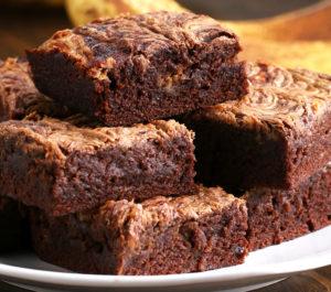 Пирог шоколадно-банановый