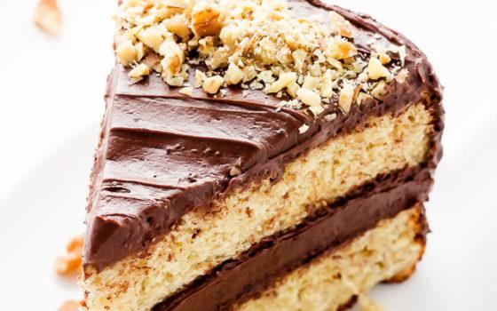 Рецепт с фото пошагово торт шоколадно-банановый