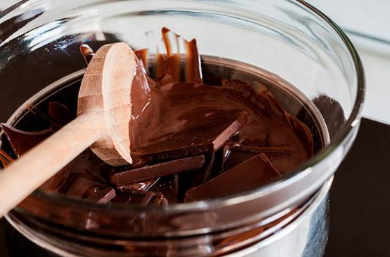 Темперирование шоколада темного шоколада
