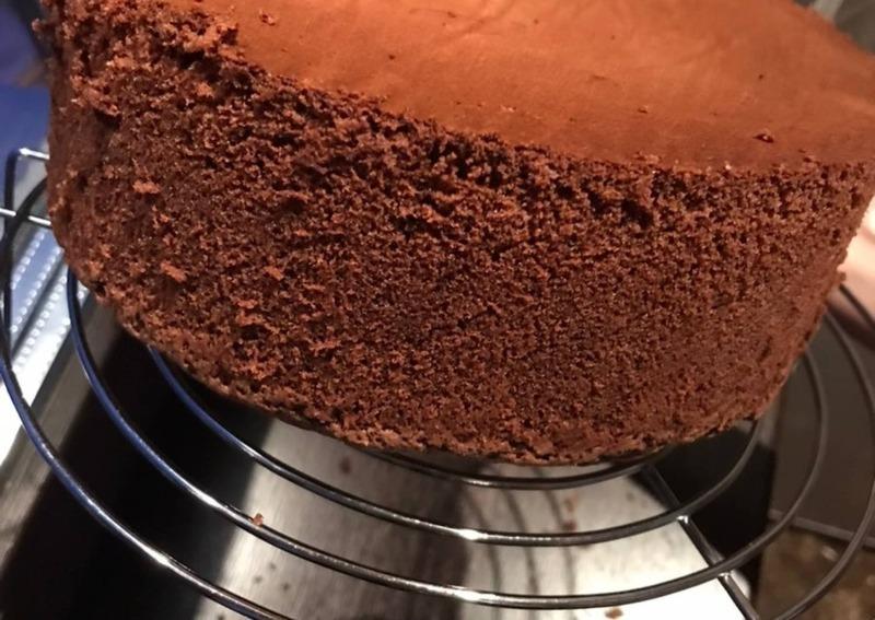 Шоколадный бисквит в мультиварке (шифоновый, на кипятке и др.)