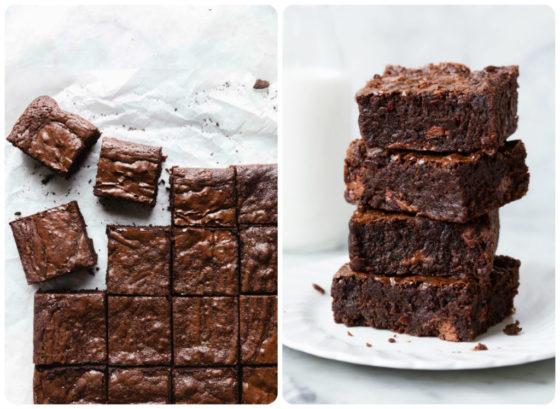 Брауни из какао без шоколада
