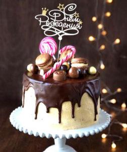 Фигурки и надписи на торт