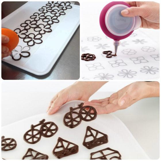 Фигурки на торт из шоколада своими руками