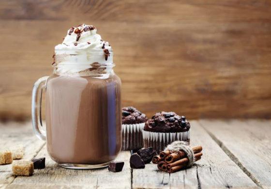 Горячий шоколад по венски