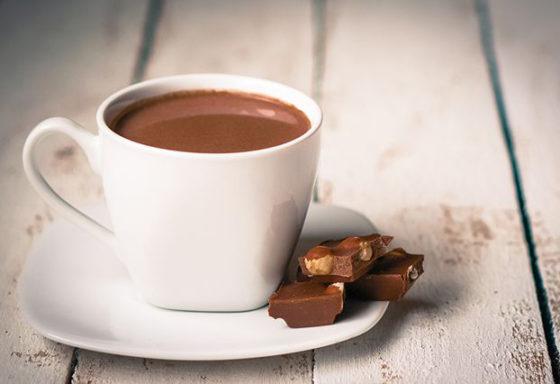 Горячий шоколад рецепт с фото