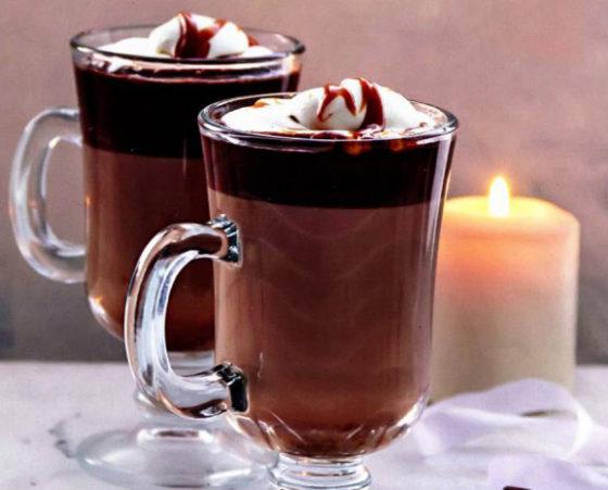 Горячий шоколад с алкоголем