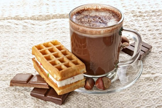 Горячий сливочный шоколад