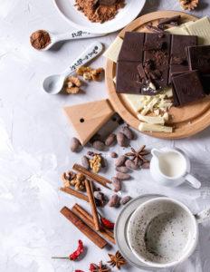 Из чего готовить горячий шоколад