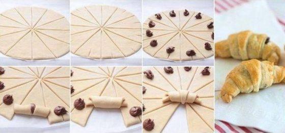 Как правильно готовить шоколадные круассаны