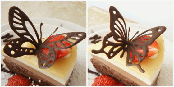 Как сделать бабочки из шоколада