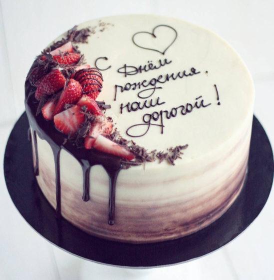 Красивые надписи на торте шоколадом