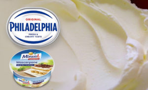 Маскарпоне и филадельфия для чизкейка