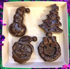 Милые шоколадные фигурки