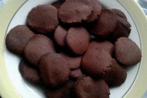 Печенье из гречки и шоколада