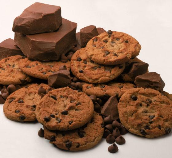Шоколадное печенье американо