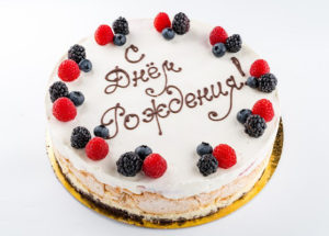 Создание красивых надписей на торт