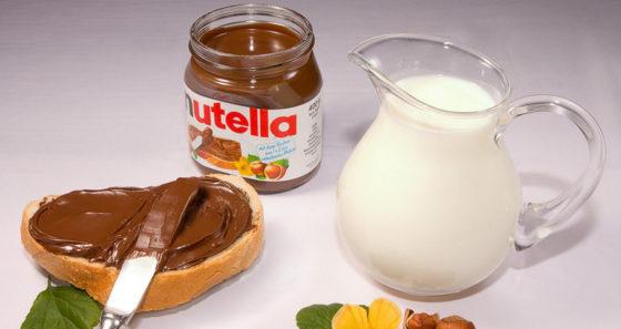 Вкусная шоколадно ореховая паста Нутелла