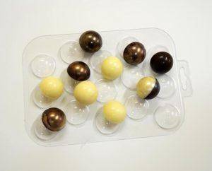 Формы для шоколада в виде сфер