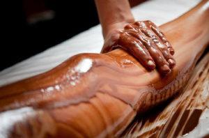 Как делают шоколадное обертывание