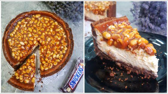 Как правильно готовить чизкейк сникерс