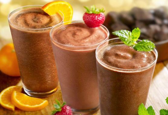 Как приготовить шоколадный коктейль