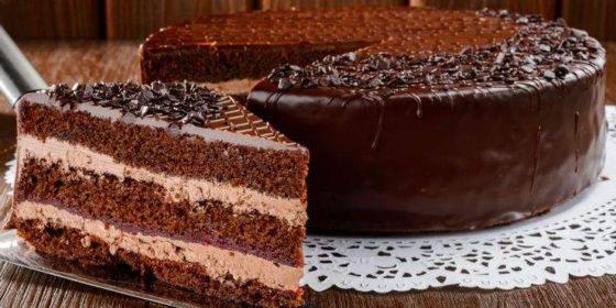 Как приготовить торт из шоколада на кипятке