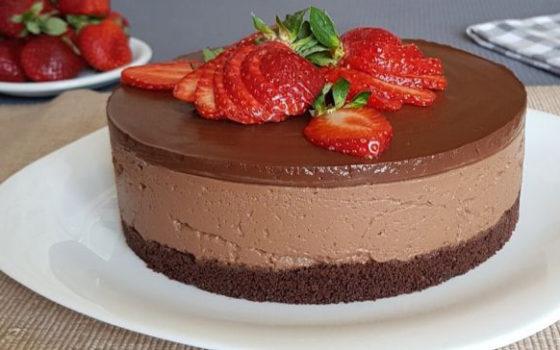 Как украсить чизкейк из шоколада