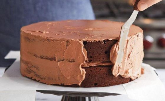 Крем чиз для выравнивания торта