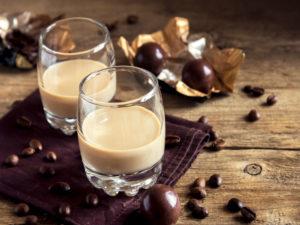 Ликер с шоколадом сливками