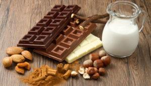 Молоко из шоколада