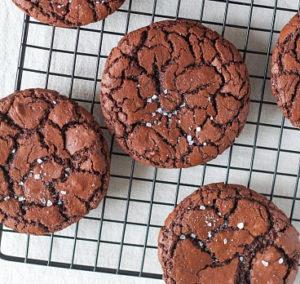 Печенье брауни с солью как сделать