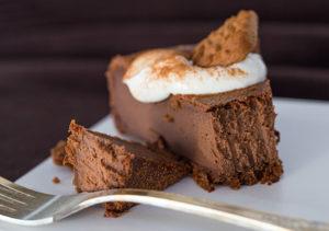 Пошаговый рецепт шоколадного чизкейка