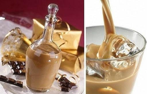 Приготовление шоколадного ликера дома