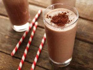 Рецепт приготовления шоколадного коктейля