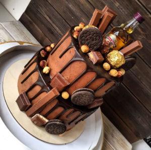 Рецепт торта Нутелла