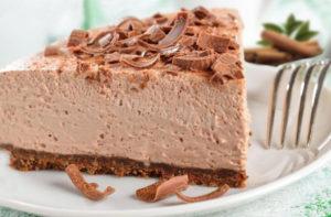 Шоколадно-сливочное суфле рецепт с фото
