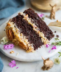 Шоколадный немецкий торт