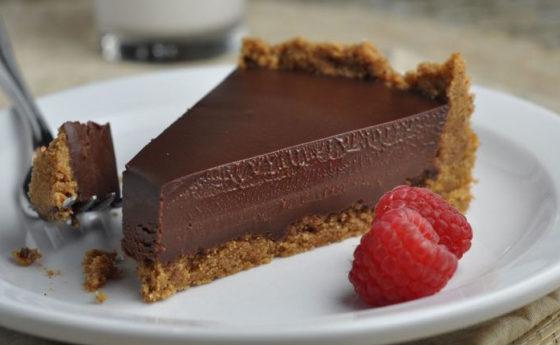 Суфле шоколадное торт