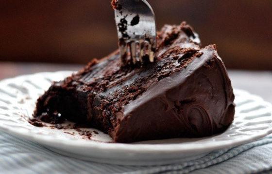 Супер влажный шоколадный торт