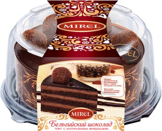 Торт Бельгийский шоколад классически