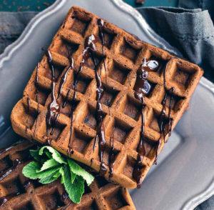 Вафли с шоколадом рецепт с фото