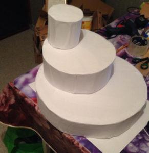 Создание торта из конфет своими руками