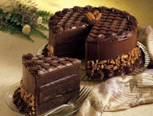 Торт с шоколадом черная магия