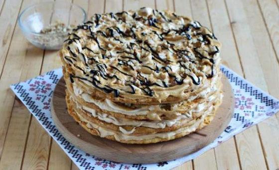 Вкуснейший торт Воздушный Сникерс