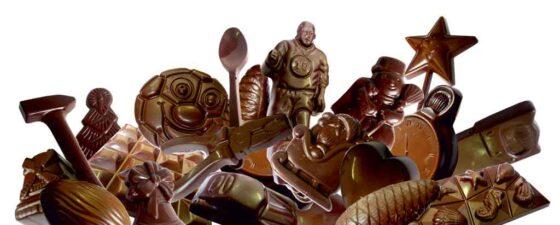 Шоколадные фигурки своими руками в домашних условиях