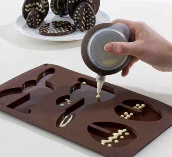 силиконовая форма для шоколадных фигурок
